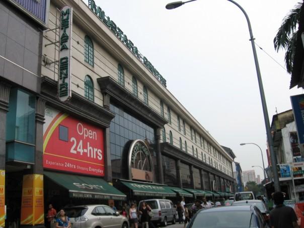 Mustafa Centre, the HQ